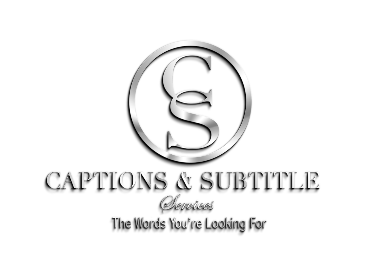 Captions and Subtitle Services logo